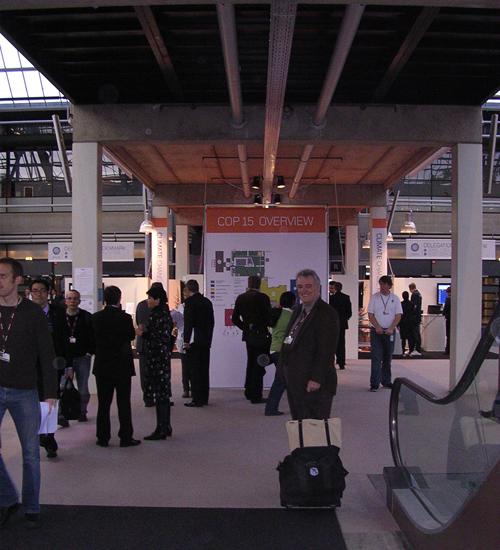 At COP15 in Copenhagen: the head of the Third Planet delegation, Robert Farmer
